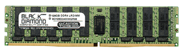 Picture of 128GB (1X128GB)  PC4-19200 DDR4-2400Mhz LRDIMM ECC Registered Memory 288-pin (8Rx4)