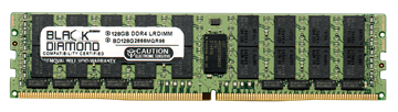 Picture of 128GB (1X128GB)  PC4-21300 DDR4-2666Mhz LRDIMM ECC Registered Memory 288-pin (8Rx4)
