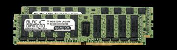 Picture of 128GB Kit (2x64GB) LRDIMM DDR4 2400 ECC Registered Memory 288-pin  (4Rx4)