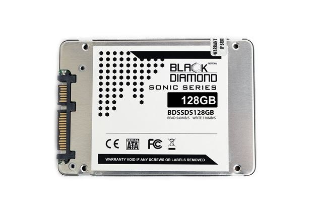Picture of 128GB Sonic Series SSD 2.5 inch W/R:520/320MB