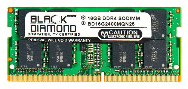 Picture of 16GB DDR4 2400 SODIMM Memory 260-pin (2Rx8)