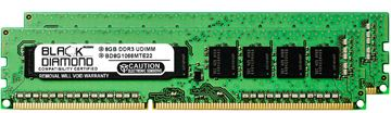 Picture of 16GB Kit (2x8GB) DDR3 1066 (PC3-8500) ECC Memory 240-pin (2Rx8)