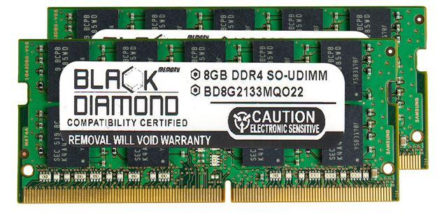 Picture of 16GB Kit (2x8GB) DDR4 2133 ECC SODIMM Memory 260-pin (2Rx8)