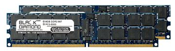 Picture of 16GB Kit(2x8GB) DDR2 667 (PC2-5300) ECC Registered Memory 240-pin (2Rx4)