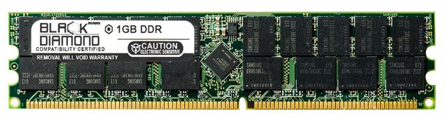 Picture of 1GB DDR 266 (PC-2100) ECC Registered Memory 184-pin (2Rx4)