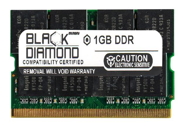 Picture of 1GB DDR 333 (PC-2700) Micro-Dimm Memory 172-pin (2Rx8)