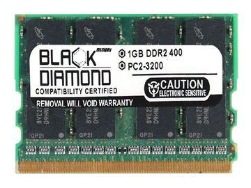 Picture of 1GB DDR2 400 (PC2-3200) Micro-Dimm Memory 214-pin (2Rx16)