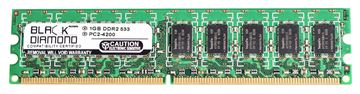 Picture of 1GB DDR2 533 (PC2-4200) ECC Memory 240-pin (2Rx8)