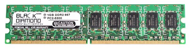 Picture of 1GB DDR2 667 (PC2-5300) ECC Memory 240-pin (2Rx8)