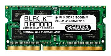 Picture of 1GB DDR3 1333 (PC3-10600) SODIMM Memory 204-pin (2Rx8)