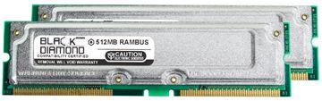 Picture of 1GB Kit(2X512MB) Rambus PC1066 Memory 184-pin