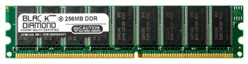 Picture of 256MB DDR 400 (PC-3200) ECC Memory 184-pin (1Rx8)