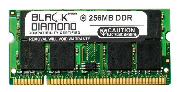 Picture of 256MB DDR 400 (PC-3200) SODIMM Memory 200-pin (2Rx8)
