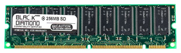 Picture of 256MB SDRAM PC100 ECC Registered Memory 168-pin (2Rx4)