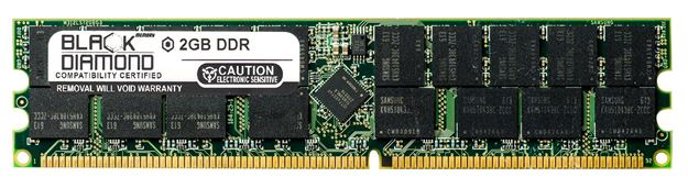 Picture of 2GB DDR 333 (PC-2700) ECC Registered Memory 184-pin (2Rx4)