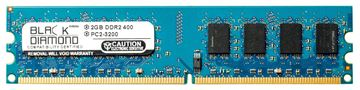 Picture of 2GB DDR2 400 (PC2-3200) Memory 240-pin (2Rx8)