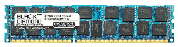 Picture of 2GB DDR3 1600 (PC3-12800) ECC Registered Memory 240-pin (1Rx4)