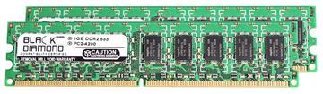 Picture of 2GB Kit (2x1GB) DDR2 533 (PC2-4200) ECC Memory 240-pin (2Rx8)