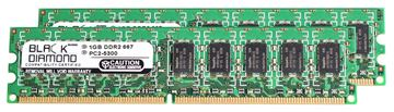 Picture of 2GB Kit (2x1GB) DDR2 667 (PC2-5300) ECC Memory 240-pin (2Rx8)