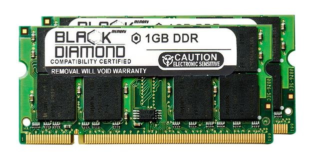 Picture of 2GB Kit(2X1GB) DDR 333 (PC-2700) SODIMM Memory 200-pin (2Rx8)