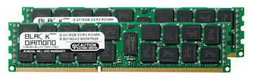 Picture of 32GB Kit (2x16GB) DDR3 1600 (PC3-12800) ECC Registered Memory 240-pin (2Rx4)
