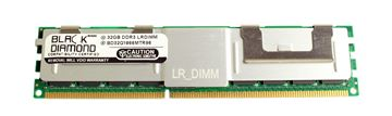 Picture of 32GB LRDIMM DDR3 1866 (PC3-14900) ECC Registered Memory 240-pin (4Rx4)