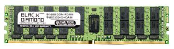 Picture of 32GB LRDIMM DDR4 2400 ECC Registered Memory 288-pin (4Rx4)