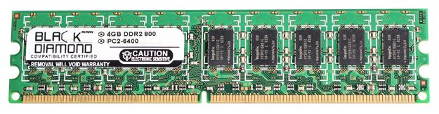 Picture of 4GB DDR2 800 (PC2-6400) ECC Memory 240-pin (2Rx8)
