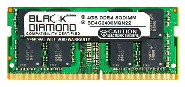 Picture of 4GB DDR4 2400 SODIMM Memory 260-pin (2Rx8)
