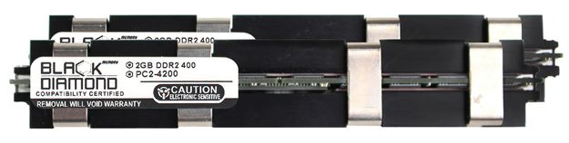 Picture of 4GB Kit (2x2GB) DDR2 533 (PC2-4200) Apple Fully Buffered Memory 240-pin (2Rx4)