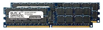 Picture of 4GB Kit (2x2GB) DDR2 667 (PC2-5300) ECC Registered Memory 240-pin (2Rx4)