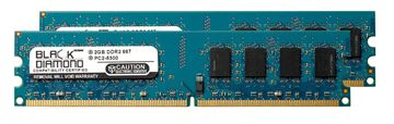 Picture of 4GB Kit (2x2GB) DDR2 667 (PC2-5300) Memory 240-pin (2Rx8)