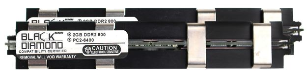 Picture of 4GB Kit (2x2GB) DDR2 800 (PC2-6400) Apple Fully Buffered Memory 240-pin (2Rx4)