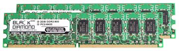 Picture of 4GB Kit (2x2GB) DDR2 800 (PC2-6400) ECC Memory 240-pin (2Rx8)