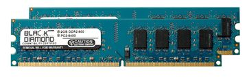 Picture of 4GB Kit (2x2GB) DDR2 800 (PC2-6400) Memory 240-pin (2Rx8)