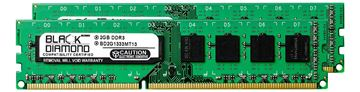 Picture of 4GB Kit (2x2GB) DDR3 1333 (PC3-10600) Memory 240-pin (2Rx8)