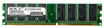 Picture of 512MB DDR 333 (PC-2700) Memory 184-pin (2Rx8)