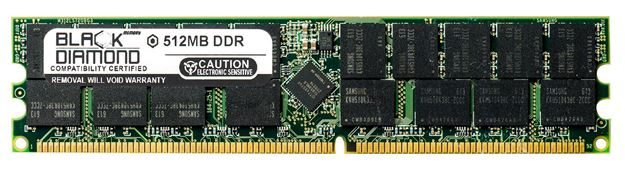 Picture of 512MB DDR 333 (PC-2700) ECC Registered Memory 184-pin (1Rx4)