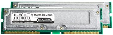 Picture of 512MB Kit(2X256MB) PC800 40ns Memory 184-pin