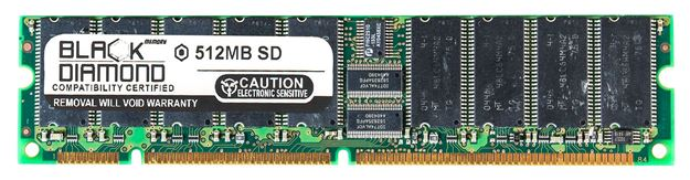 Picture of 512MB (2Rx8) SDRAM PC133 ECC Memory 168-pin