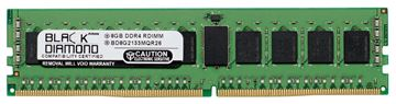 Picture of 8GB (2Rx4) DDR4 2133 ECC Registered Memory 288-pin