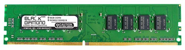 Picture of 8GB (2Rx8) DDR4 2133 Memory 288-pin