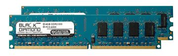 Picture of 8GB Kit (2x4GB) DDR2 533 (PC2-4200) Memory 240-pin (2Rx8)