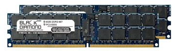 Picture of 8GB Kit (2x4GB) DDR2 667 (PC2-5300) ECC Registered Memory 240-pin (2Rx4)