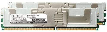 Picture of 8GB Kit (2x4GB) DDR2 667 (PC2-5300) Fully Buffered Memory 240-pin (2Rx4)