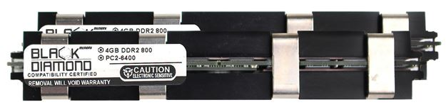 Picture of 8GB Kit (2x4GB) DDR2 800 (PC2-6400) Apple Fully Buffered Memory 240-pin (2Rx4)