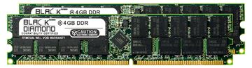 Picture of 8GB Kit(2X4GB) DDR 333 (PC-2700) ECC Registered Memory 184-pin (2Rx4)