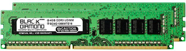 Picture of 8GB Kit(2x4GB) DDR3 1066 (PC3-8500) ECC Memory 240-pin (2Rx8)