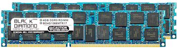 Picture of 8GB Kit(2x4GB) DDR3 1066 (PC3-8500) ECC Registered Memory 240-pin (2Rx4)