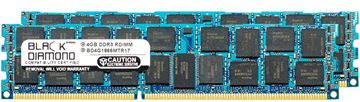 Picture of 8GB Kit(2x4GB) DDR3 1866 (PC3-14900) ECC Registered Memory 240-pin  (2Rx4)